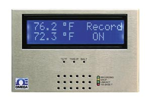 iSD-TC : Web-Ethernet temperature monitoring. Dual thermocouple input