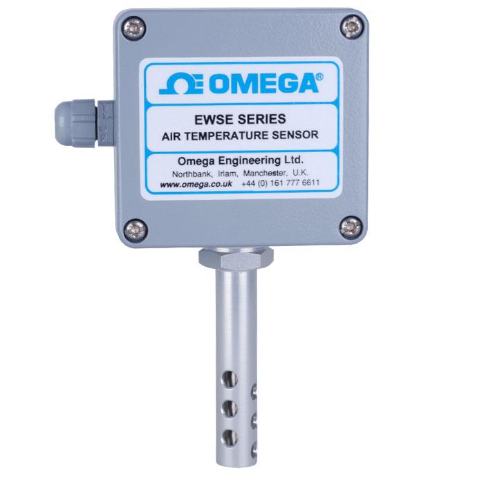 Wall Mount Temperature Sensor : Rugged weatherproof temperature sensor