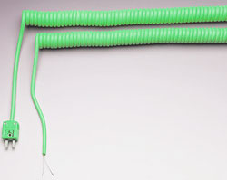RSC and RSCM Series : Retractable Sensor Cables for Thermocouples, RTDs and Thermistors