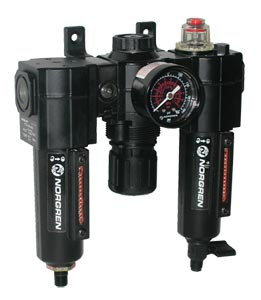 Norgren Excelon®  Air Filter-Regulator-Lubricator Combination Units for Use with Air Line Tools | C72A Series