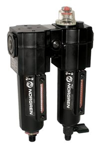 Norgren Excelon® Filter-Lubricator Combination Units for Compressed Air Systems   C72C Series