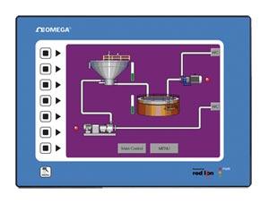 """Terminal d&#39interface opérateur G310 écran LCD 10"""" Avec affichage VGA et ÉCRAN tactile   G310"""