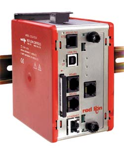 Data Station Plus, Multiple Protocol Converter, Communication Gateway  for PLC's, PC's and SCADA Systems. High-Speed Data Logging , Web Server and Virtual HMI.   G3 DSP Series Data Station Plus