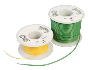 Silver Plated Copper Equipment Wire, PTFE Insulation | HW5800 Series