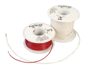 Single Conductor Instrument Wire, Irradiated PVC Insulation | HW7000 Series