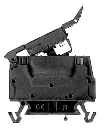 Screw connection din rail fuse block terminal publicscrutiny Image collections