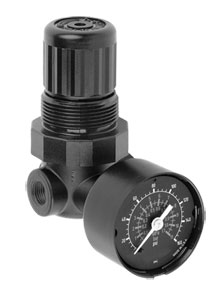 Pressure regulators, FRLs, Inert gas | R07-200-RGKA Inline Pressure Regulator
