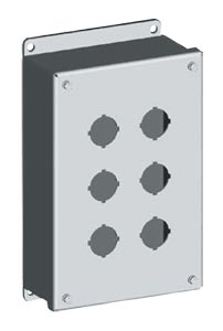 Stainless Steel Switch Enclosures | SCE-PBSS Series Stainless Steel Push Button Enclosures