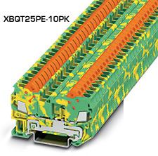 Insulation Displacement Connection Ground Terminal Blocks | XBQT Series