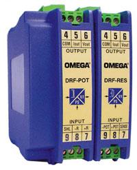 DRF-RES Conditionneurs de signaux configurables à fixation sur rail DIN | DRF-RES