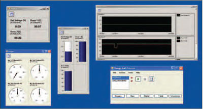 Omega DAQ Central software screenshot for the data acquisition module