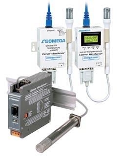 iServer MicroServer™ - převodník barometricého tlaku, teploty a relativní vlhkosti | iBTX a iBTHX série