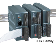 DIN rail mount temperature and process controllers | iDR Series