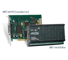 Modulární systém pro sběr dat série InstruNet | Série INET
