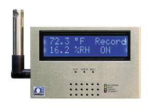 Teploměr a vlhkoměr s ethernetem a záznamem na SD kartu | iSD-TH série