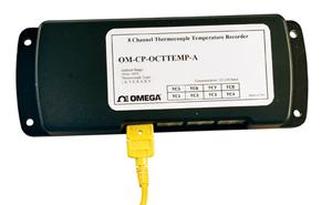 Centrale de mesure de température à 8 voies | OM-CP-OCTTEMP-A