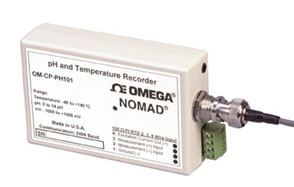 Dataloger pro záznam pH a teploty | OM-CP-PH101