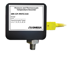 Thermocouple Temperature and Pressure Data Logger | OM-CP-PRTC210 Series