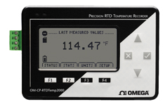 Precision RTD Temperature Data Logger | OM-CP-RTDTEMP2000