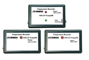 OM-CP-TEMP100 Series Temperature Data Loggers | OM-CP-TEMP100, OM-CP-TEMP101 and OM-CP-TEMP110