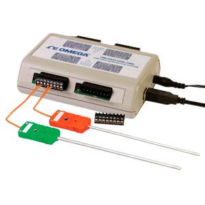Module USB d&#39acquisition de données d'entrée thermocouple/tension 8/16 canaux | OM-DAQ-USB-2401