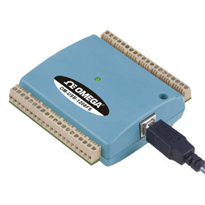8-Channel Voltage USB Data Acquisition system   OM-USB-1208FS-1408FS