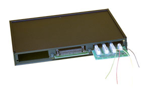 3-Slot Expansion-Card Enclosure for OMB-LOGBOOK and  OMB-DAQBOARD-2000 Series | OMB-DBK10
