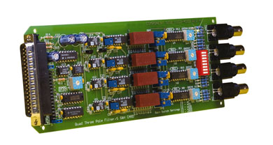 4-Channel Simultaneous Sample and Hold Card with Low-Pass Filter | OMB-DBK45