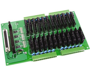24 Channel Solid State Relay Output Board for OME-PIO-D144 | OME-DB-24SSR and OME-DB-24SSR/D