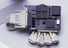 Automatic Four Port PCI RS-422/485 Interface | OMG-ULTRACOMM422-PCI Series
