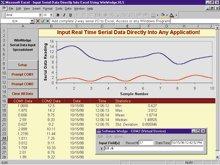 Sběr dat přímo do PC přes sériové rozhraní počítače | SWD-WINWEDGE