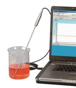 Sonde Thermocouple avec interface  USB, logiciel d'enregistrement inclus   TJ-USB Series