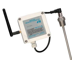 Bezdrátový vysilač s krytím IP65 pro odporový snímač teploty | UWRTD-2-NEMA