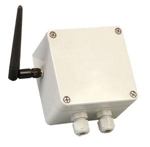 Emetteur sans fil pour thermocouple et Pt100 avec boîtier résistant aux intempéries | UWTC-2-NEMA