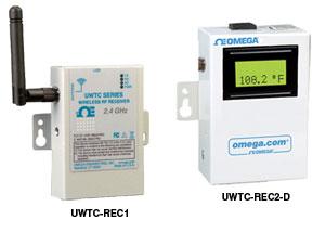 Bezdrátové přijímače pro konektory a převodníky UW série | UWTC-REC1 a UWTC-REC2