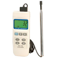 HHF2005HW Series Hot Wire  Anemometer with Data Logger | HHF2005HW