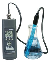 Handheld pH/mV Temperature Meter | PHH-37