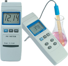 hand held pH meter | PHH222
