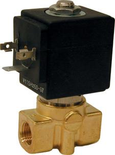 Válvulas selenoides de acción directa Serie SVM3300 | SVM3100 Series
