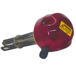 Names of the parts of a screw plug heater