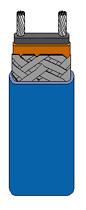 Self-Regulating Rapid-Trace Heating Cable/Medium Temperature   SRM Series