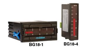 Indicateurs statiques à colonnes, 1/8 DIN ou 96 x 24 mm, échelle horizontale ou verticale   BG18