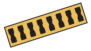 Accessoires de jauges de déformation: fils de résistance, plaquettes de bornes, résistors de fin ponts de déformation | BTP-1, RES-120, SGB-36