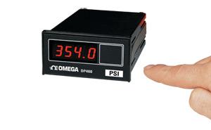 1/8 DIN Economical Process and Strain Gage Indicators, Accepts Voltage, Current and Millivolt Inputs | DP460