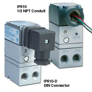Miniature I/P Electronic Air Pressure Control | IP610 Series
