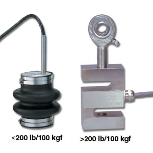 aluminium S beam load cell tension  compression force measurement | LC105 and LC115 Series