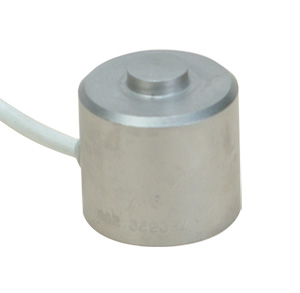 25.4 mm Diameter Stainless Steel Compression Load Cell, Metric, 0-100 to 0-50,000 N Capacities | LCM304