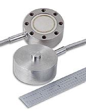 Miniaturní nerezová silová čidla, metrická, průměr 51mm, 0-100 až 0-50 kN | LCM305