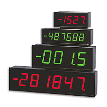 Large Displays 4- or 6-Digit, 2.3&quot and 4&quot High | LDP1