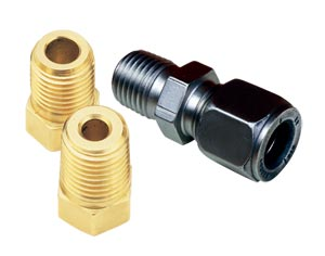 Metric Adaptors & Fittings NPT and BSPP Thread - Online | MTA and BRLK Series